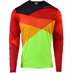 Troy Lee Designs Sprint LS Jersey Men jet/yellow/orange